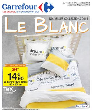 the blanc a carrefour