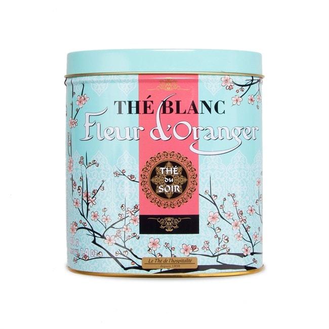 the blanc a la fleur d'oranger
