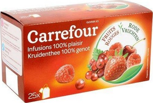 the blanc infuse cerise carrefour
