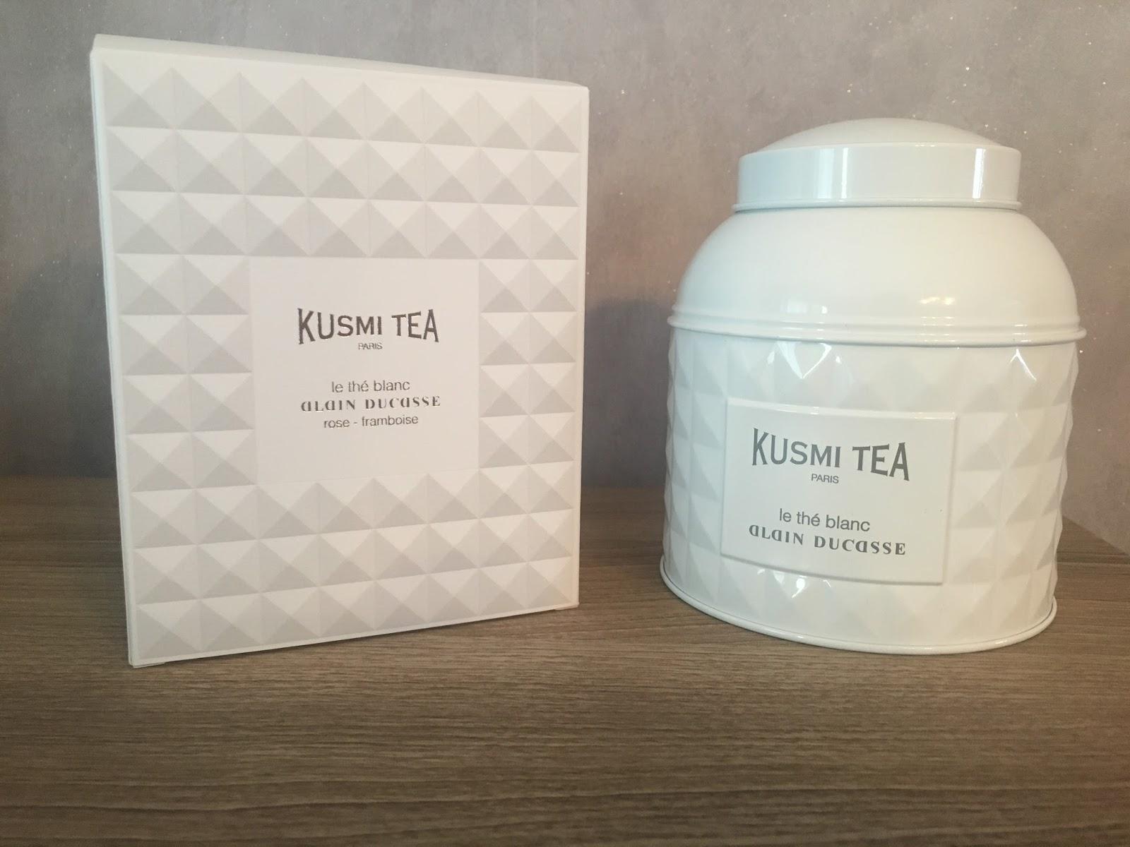 the blanc kusmi tea