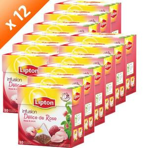 the blanc litchi gingembre lipton