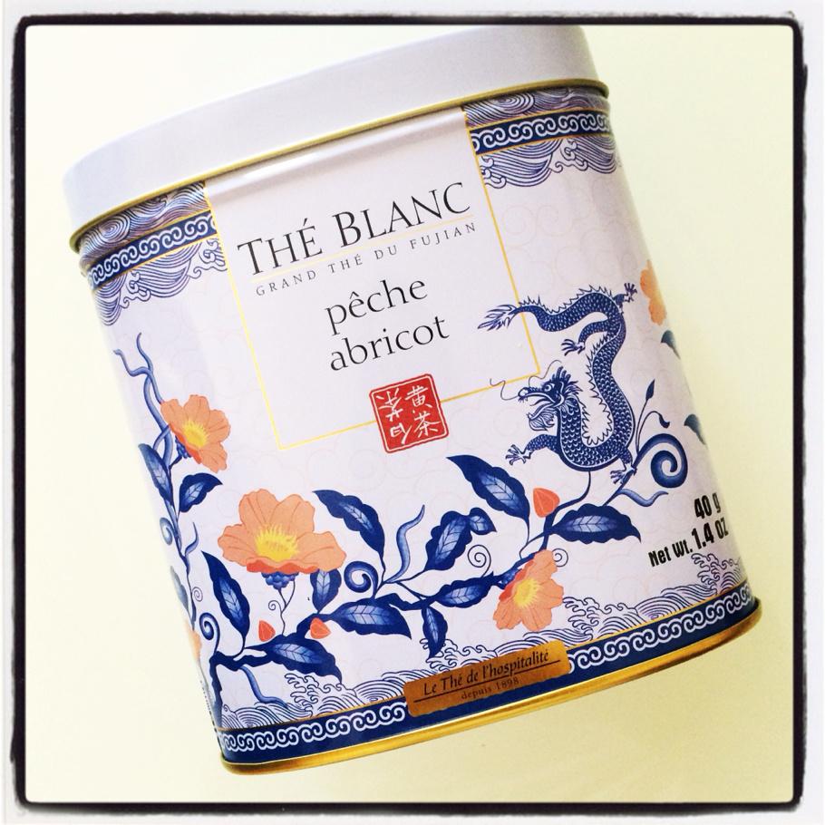 the blanc peche abricot