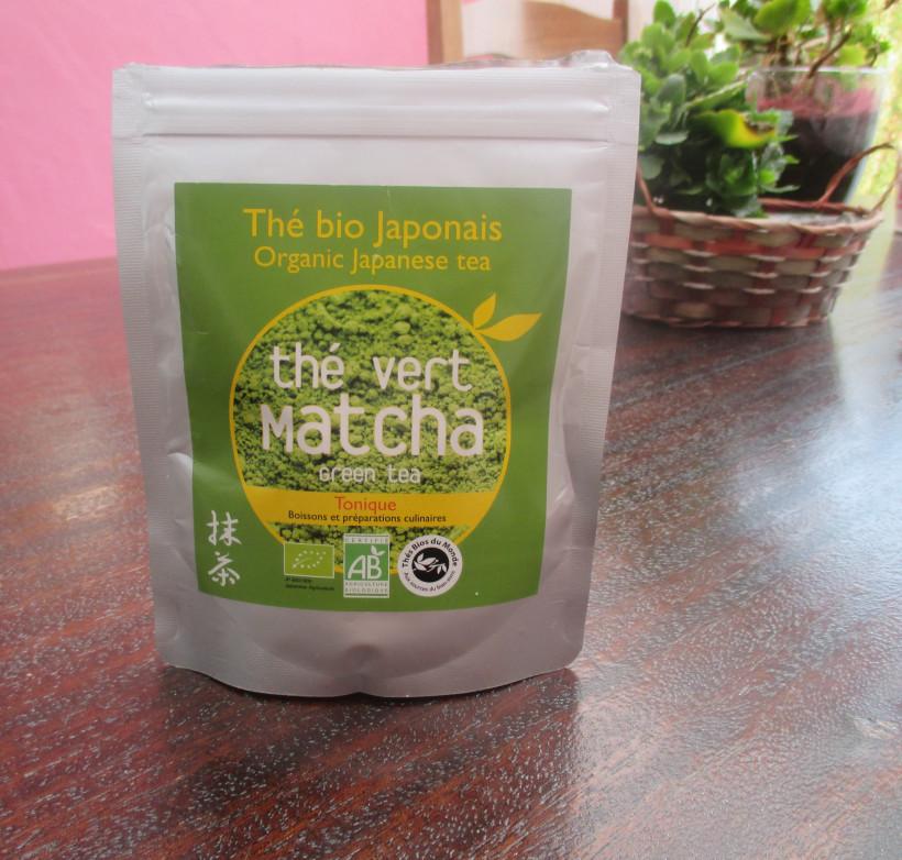 the matcha aroma