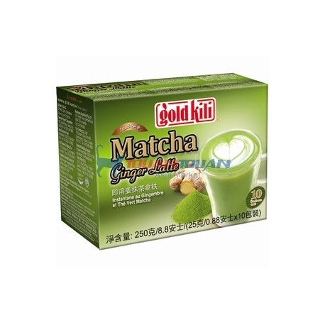 the matcha au gingembre