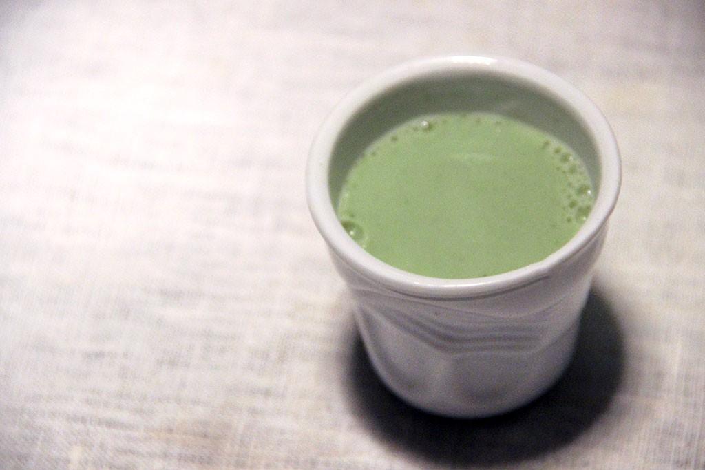 the matcha au lait