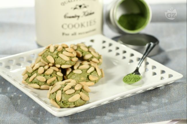 the matcha biscotti