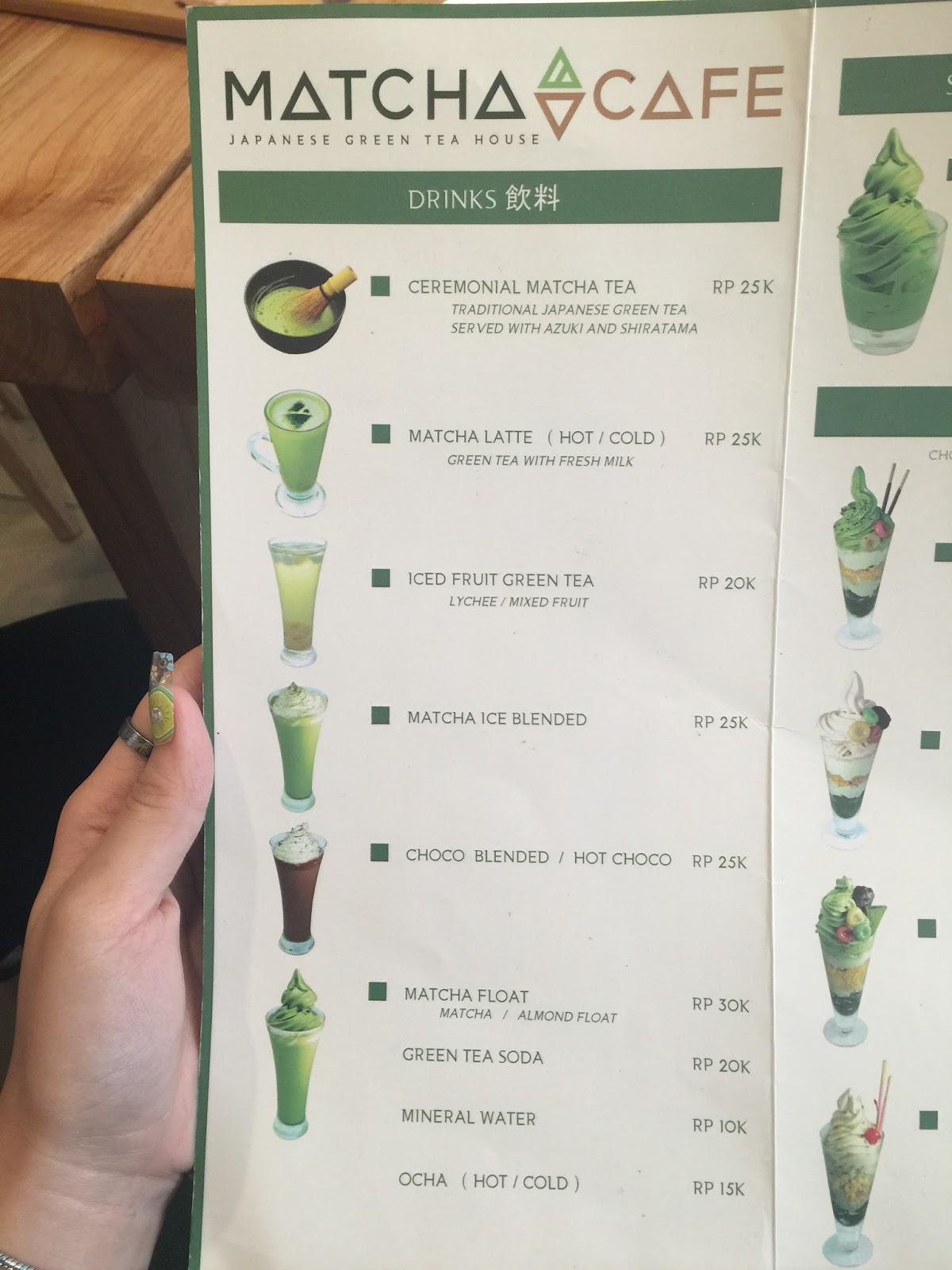 the matcha cafe surabaya