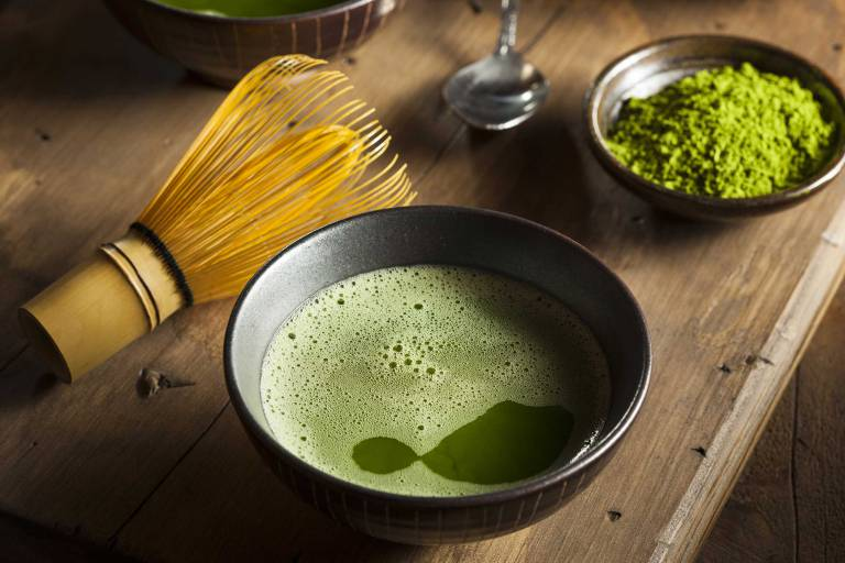 the matcha cafeine
