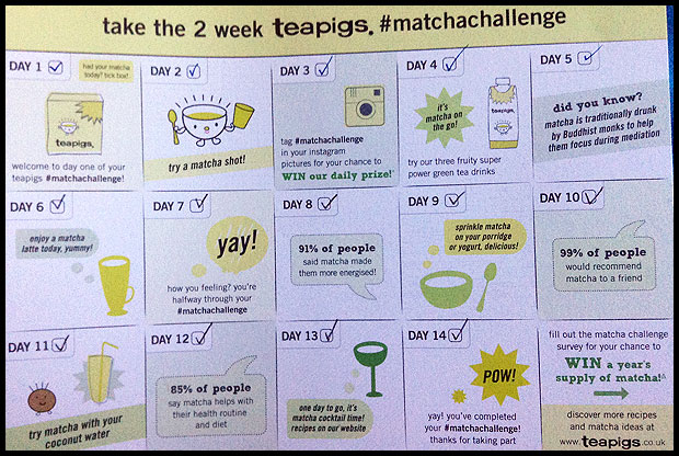 the matcha challenge