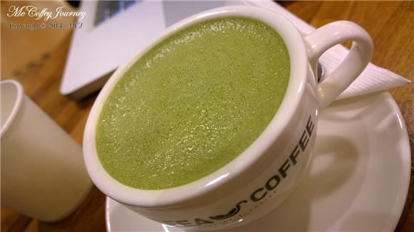 the matcha coffea