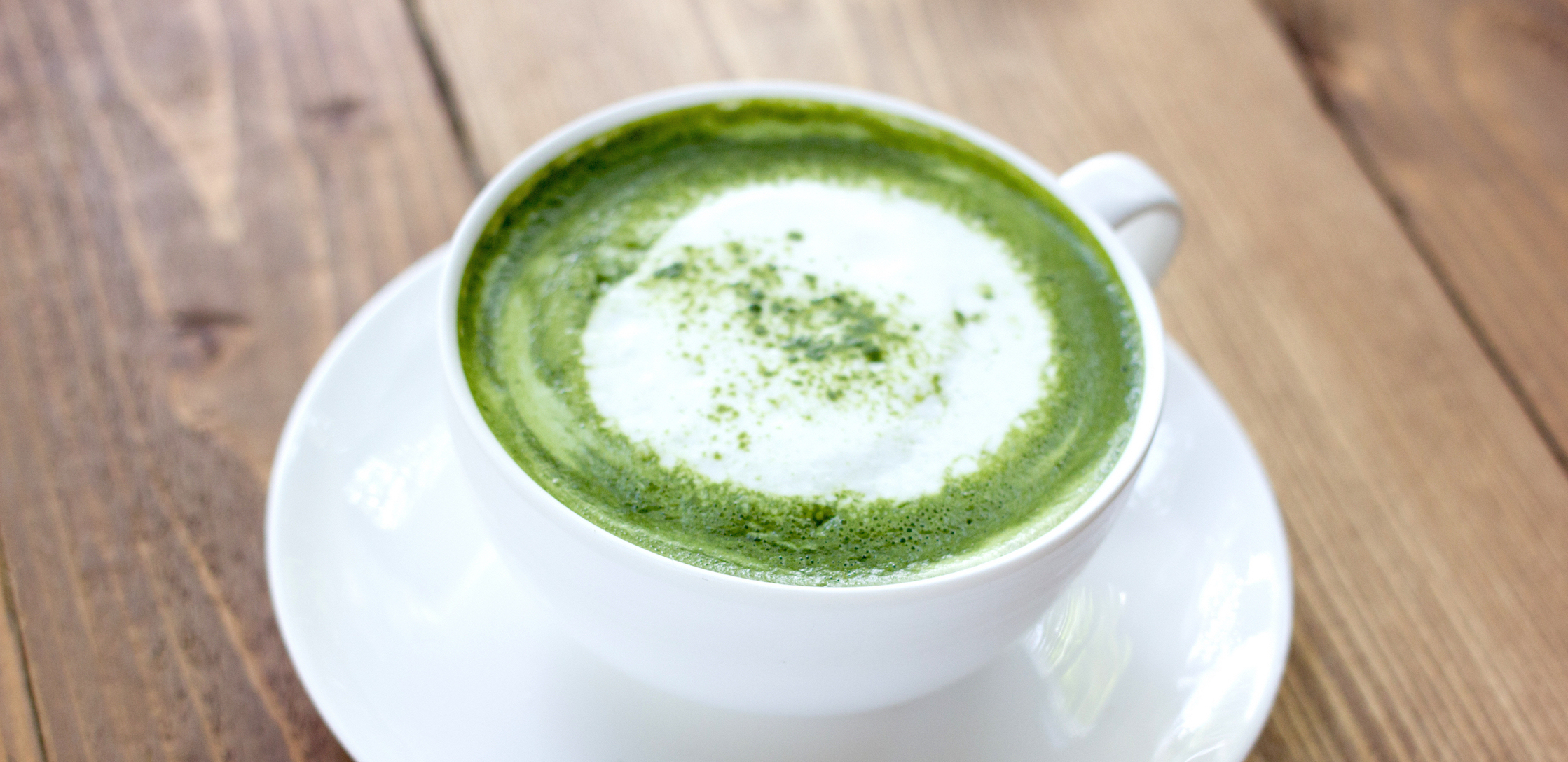 the matcha e latte