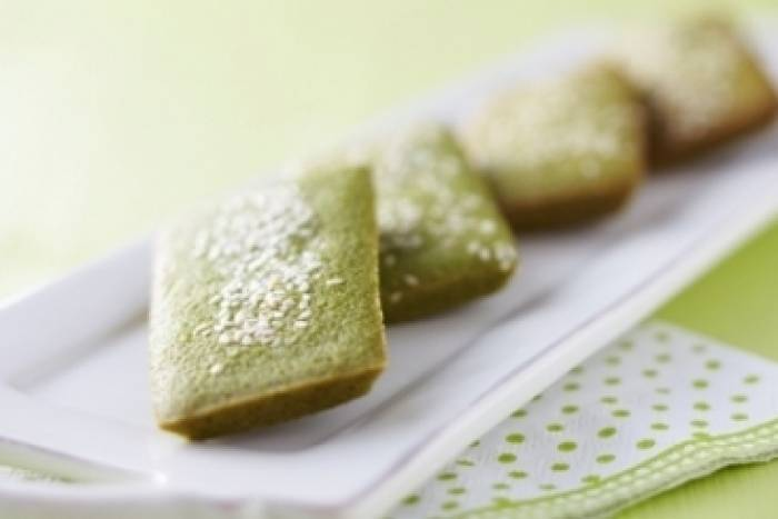 the matcha financier