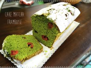 the matcha framboise