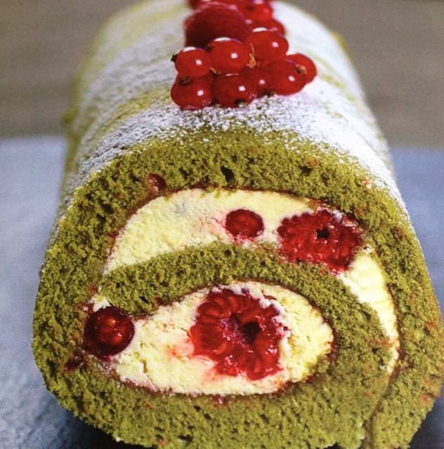 the matcha gateau