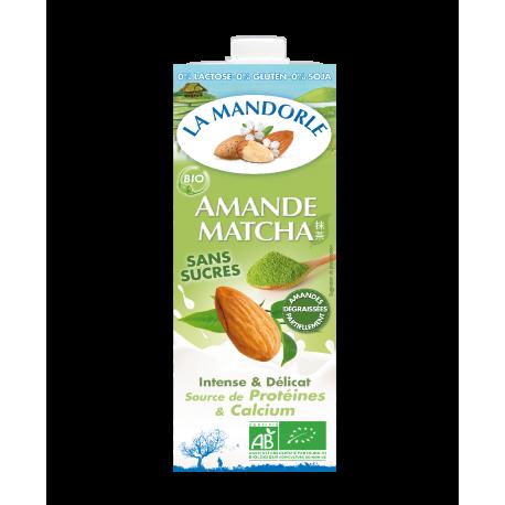 the matcha lait d'amande