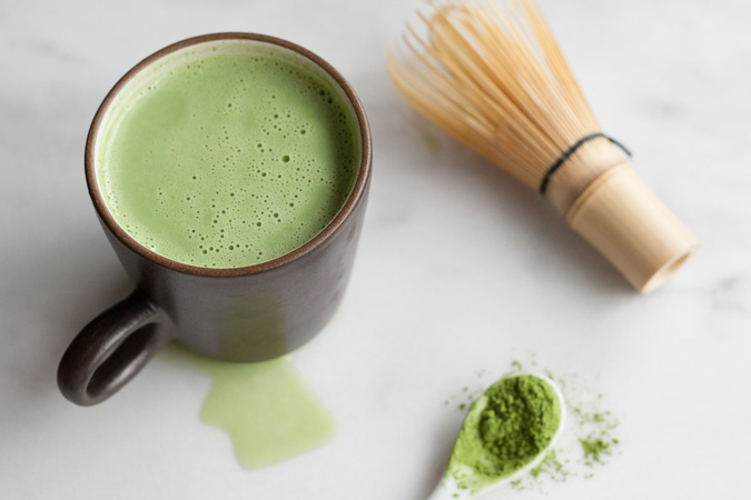 the matcha latte