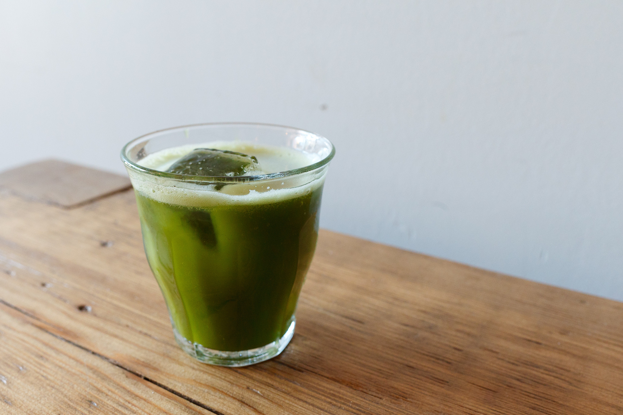 the matcha shot