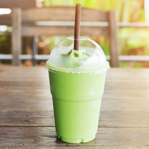 the matcha smoothie