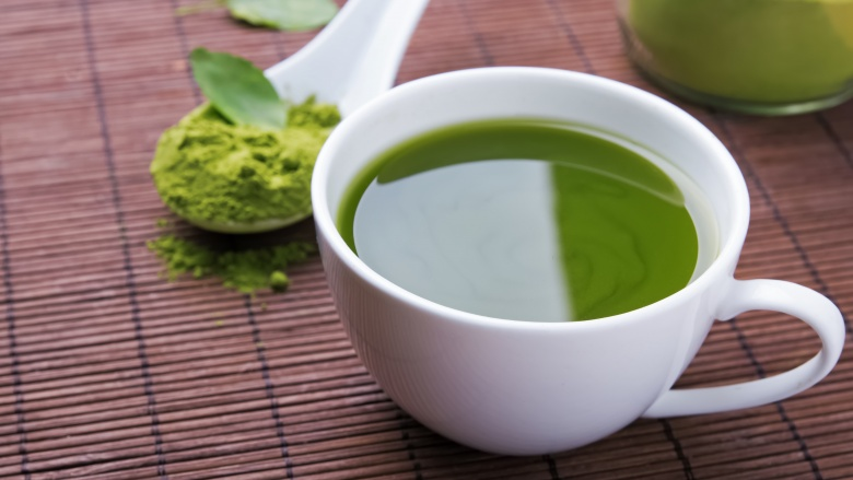 the matcha tea