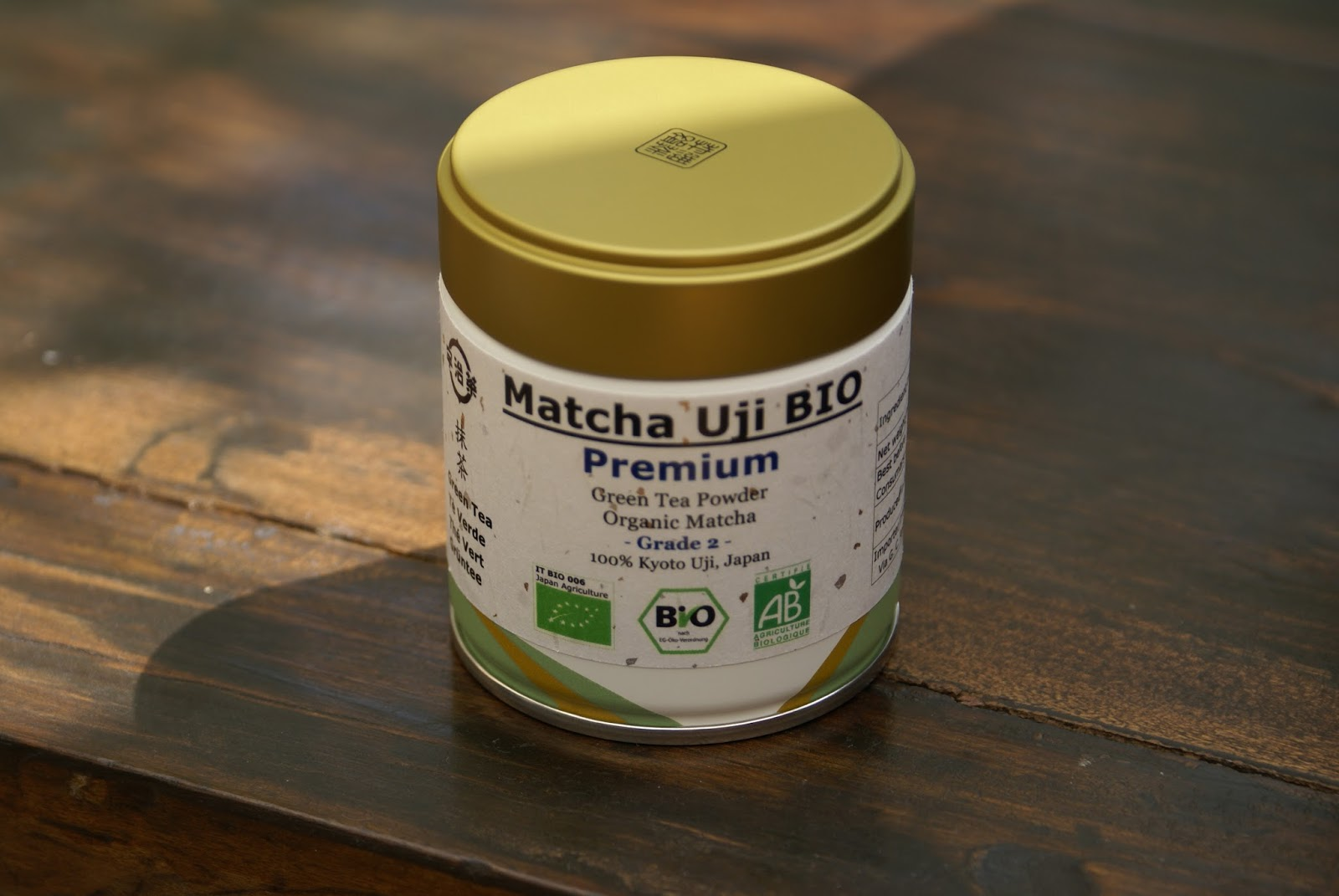 the matcha uji