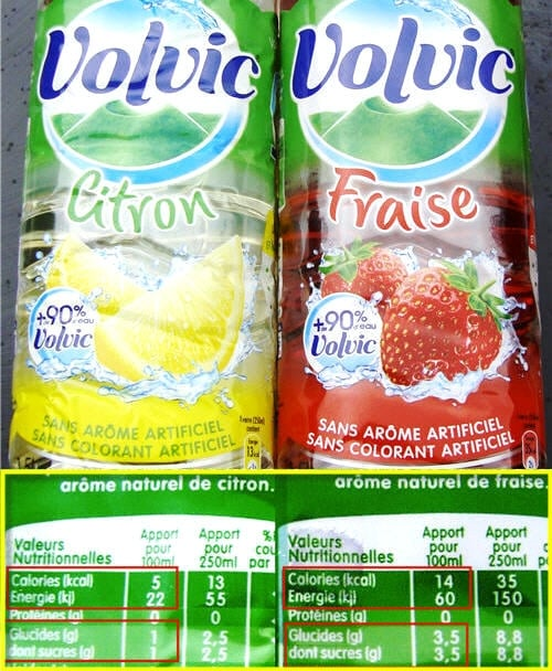 the menthe calorie