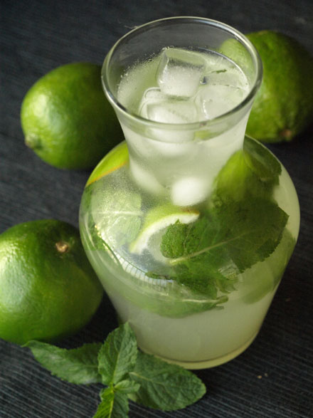 the menthe citron maison