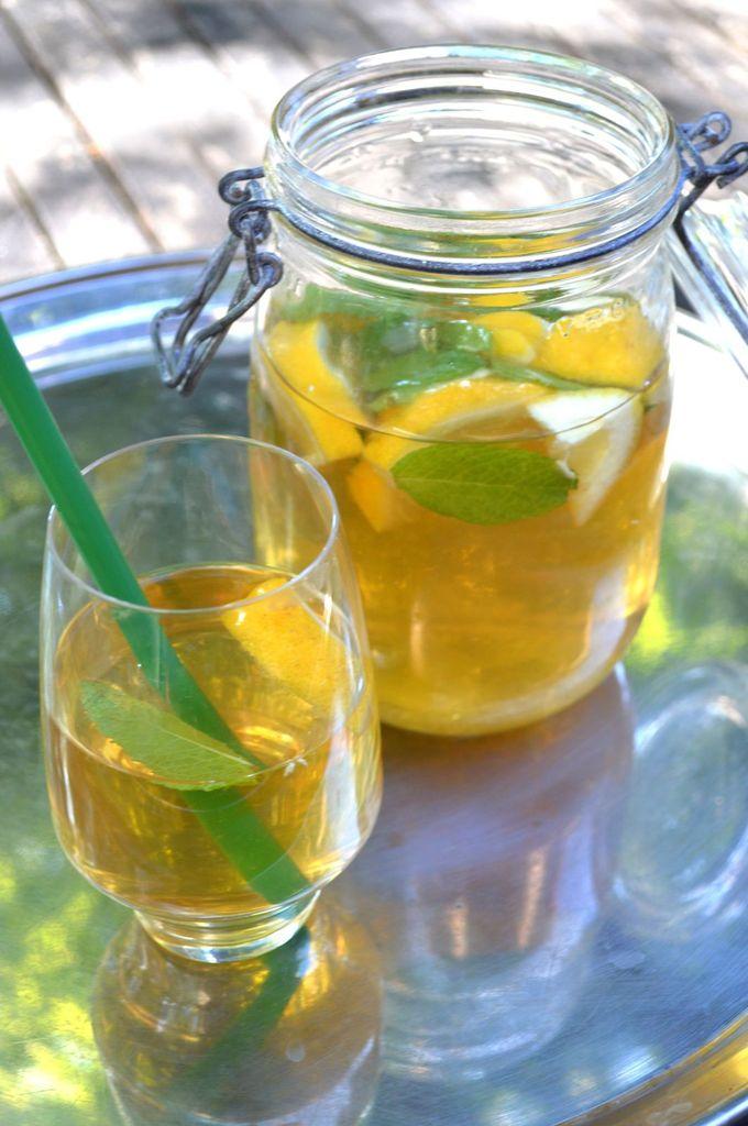 the menthe citron recette