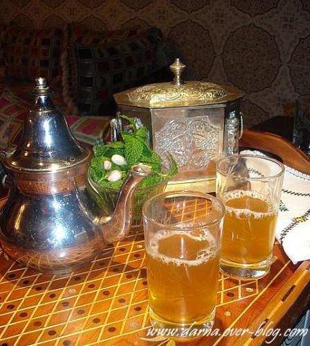 the menthe du maroc