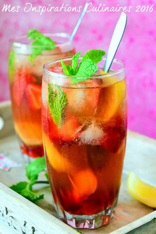 the menthe fraise