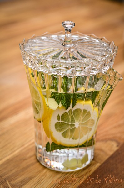 the menthe gingembre citron