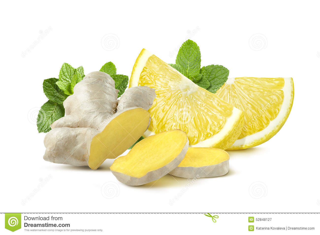 the menthe gingembre citron