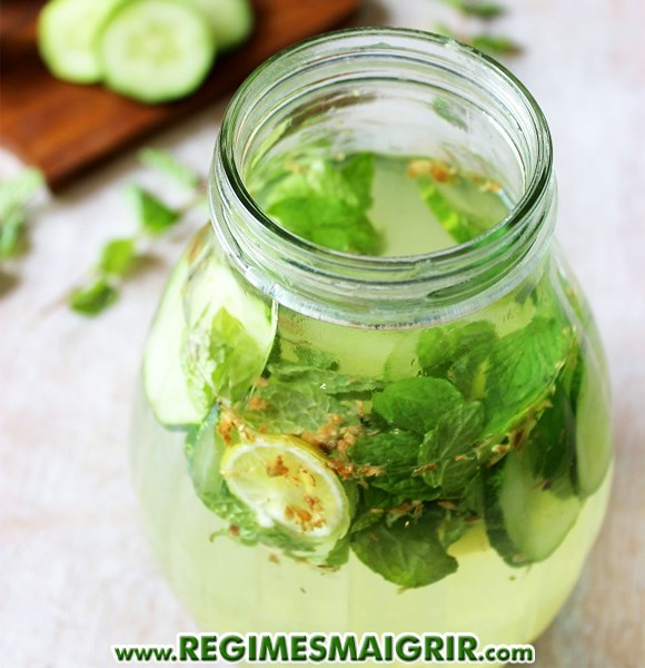 the menthe gingembre