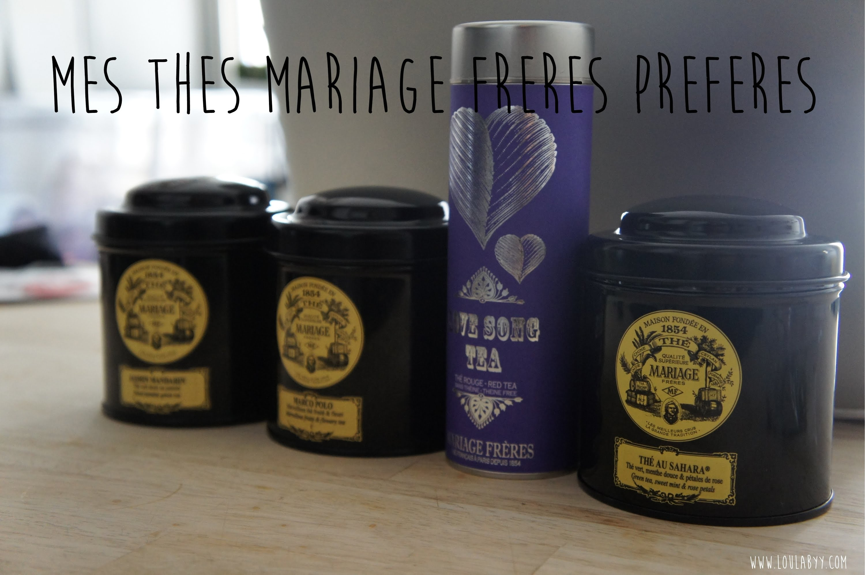 the menthe mariage frere