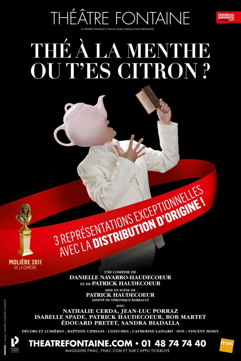 the menthe ou the citron acteurs