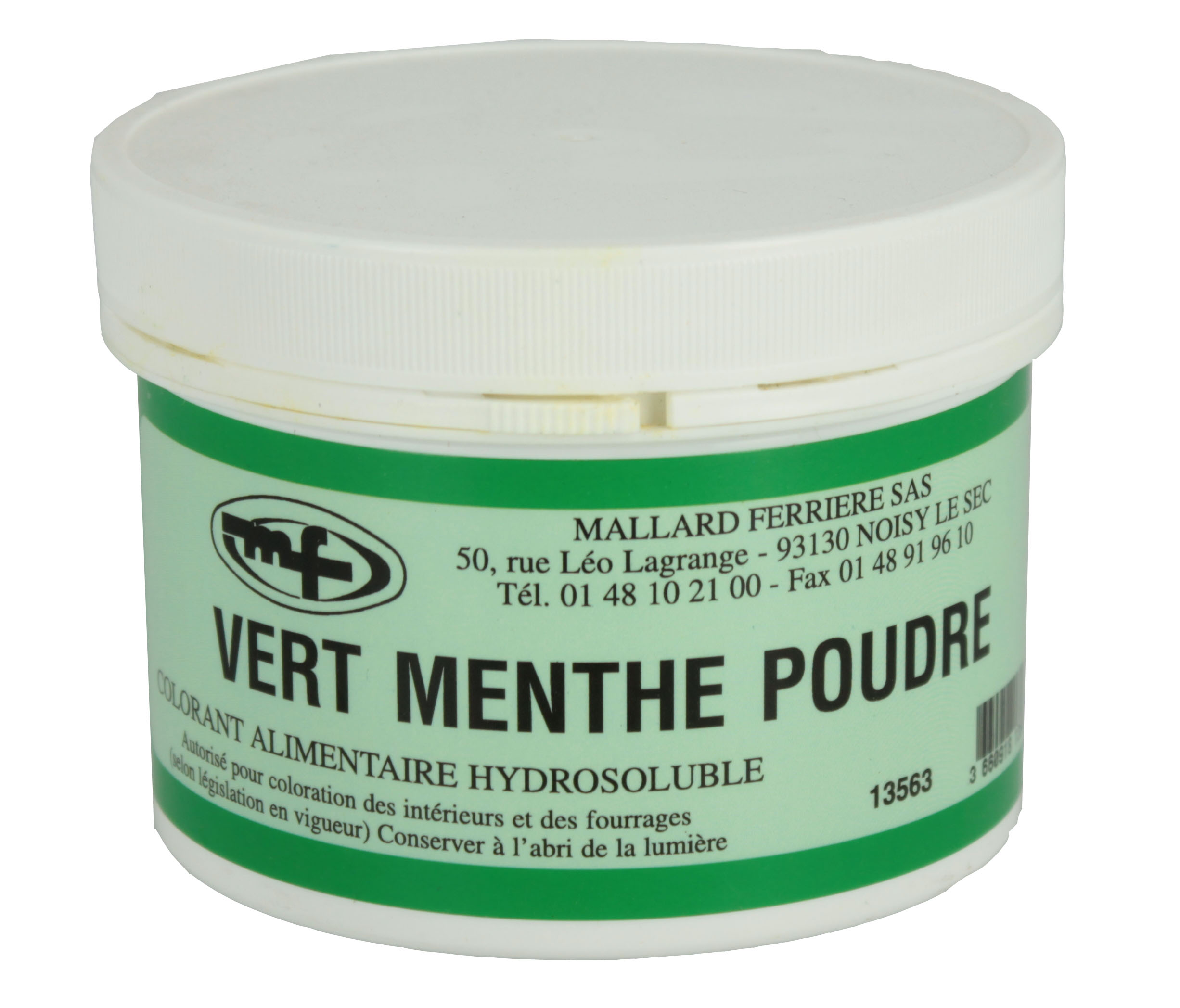 the menthe poudre