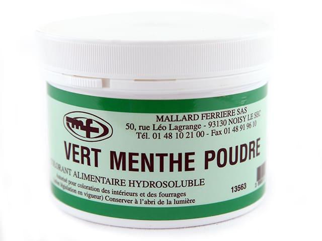 the menthe poudre