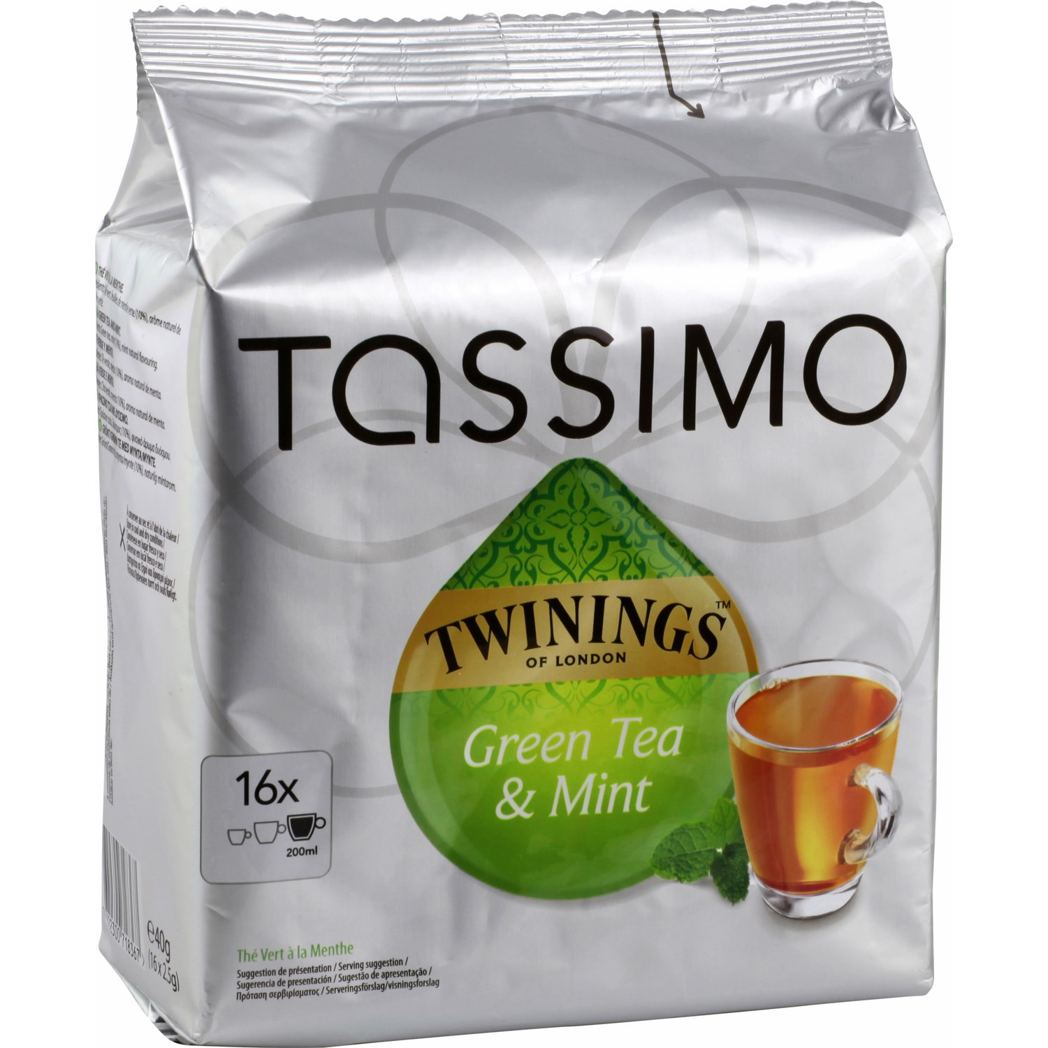 the menthe tassimo