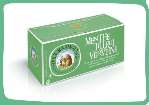 the menthe tilleul