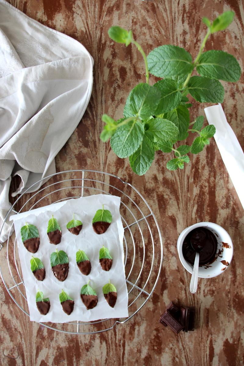 the noir a la menthe recette