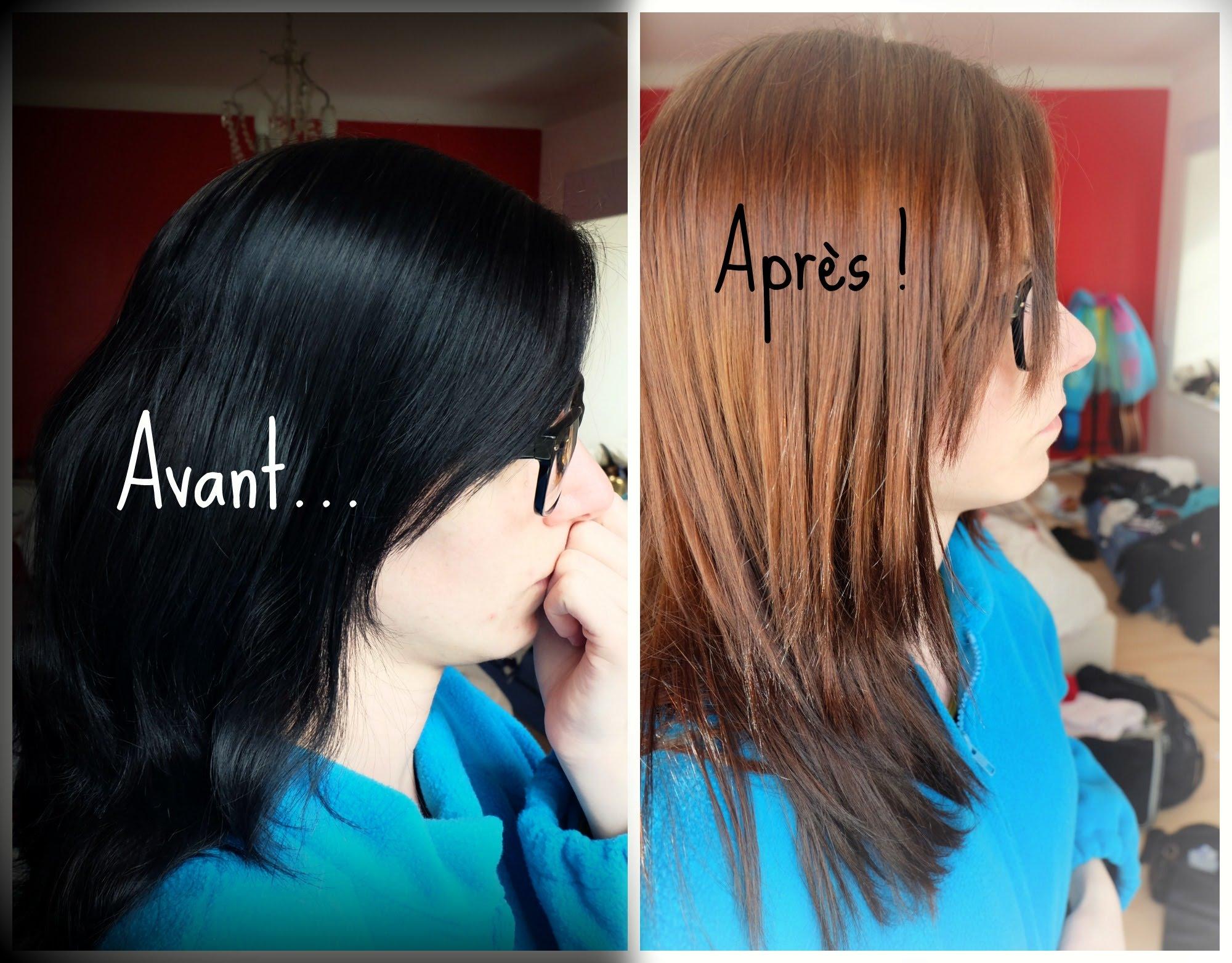 the noir cheveux