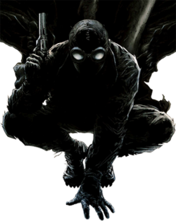 the noir spider man