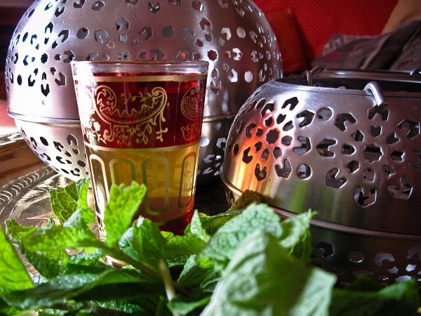 the vert a la menthe marocain