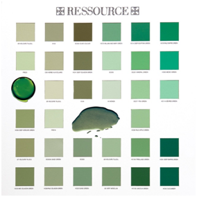 the vert a la sauge