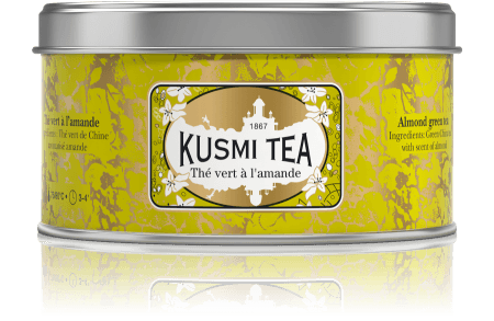 the vert amande kusmi