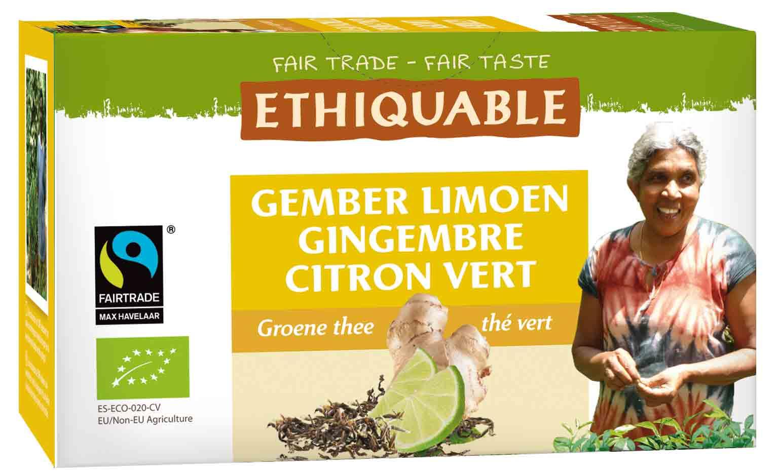 the vert citron gingembre