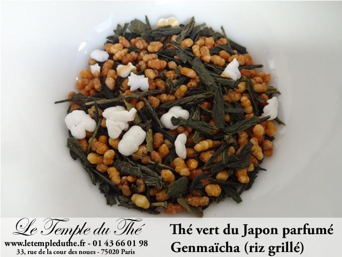 the vert genmaicha