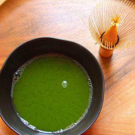 the vert hojicha
