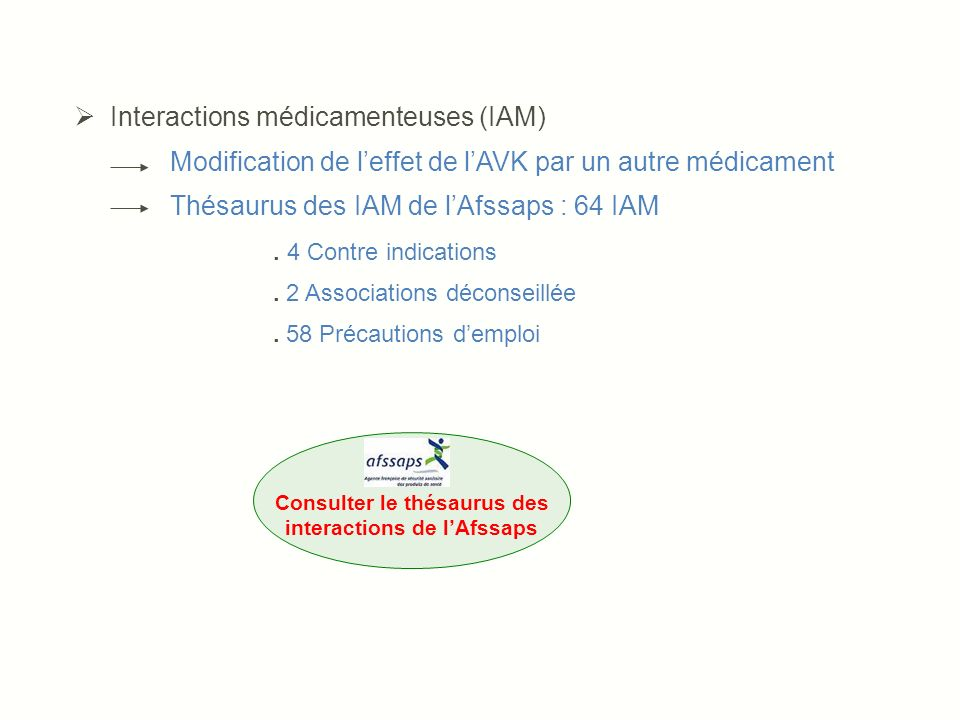 the vert interaction medicamenteuse