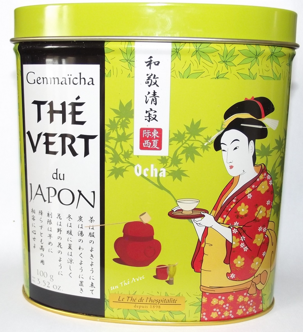 the vert japonais genmaicha