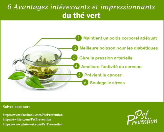the vert les bienfaits